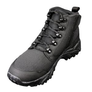 """Black Zip up tactical boots 6"""" inner toe with zipper altai Gear"""